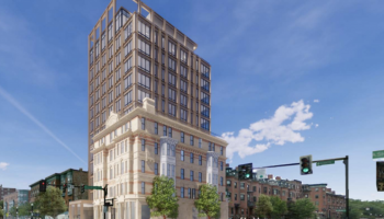Boutique hotel with rooftop bar proposed at Hotel Alexandra site in Boston's South End